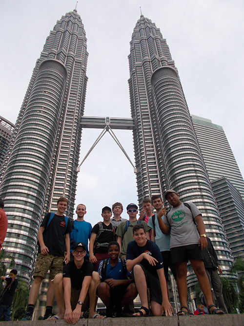 BTEA World Challenge trip to Malaysia 2016